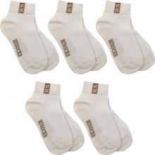 Комплект из 5 пар детских носков RuSocks (Орудьевский трикотаж) КРЕМОВЫЕ