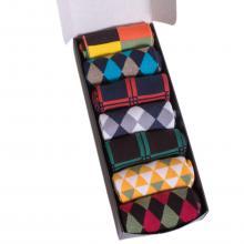 Набор из 7 пар мужских носков (НЕВА-Сокс) №НС07 микс