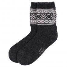 Носки из монгольской шерсти (Монголка) ЧЕРНЫЕ