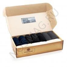 Набор носков «Бизнес» 10 пар с сургучной печатью, микс 17