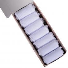 Набор из 7 пар женских носков с махровым мыском и пяткой (Palama) белые