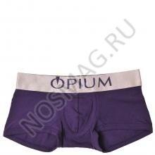 Мужские трусы OPIUM фиолетовый