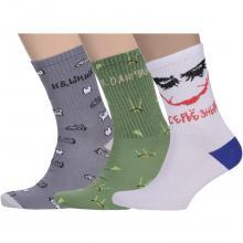 Комплект из 3 пар мужских носков Flappers Peppers микс 14