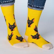 Носки unisex St. Friday Socks Типичный доберман