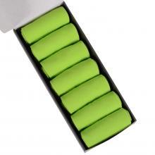 Набор из 7 пар мужских носков (НЕВА-Сокс) салатовые