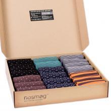 Набор носков из 20 пар в кейсе с сургучной печатью (Stylish, «Гранд-Сокс») микс 42