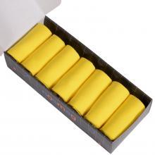 Набор из 7 пар мужских носков (LORENZline) желтые