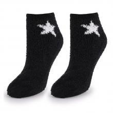 Женские укороченные махровые носки Marilyn ЧЕРНЫЕ