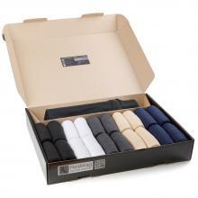 Набор из 20 пар мужских носков «Бизнес» (RuSocks) с мешком для стирки микс 34