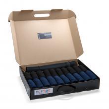 Набор из 20 пар мужских носков  Бизнес  (RuSocks) с мешком для стирки микс 29