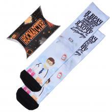 Мужские носки в подарочной упаковке НОСМАГСТЕР с принтом  Я врач