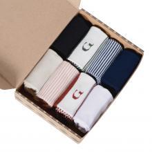 Набор из 8 пар женских бамбуковых носков (ТМ Grinston socks) микс
