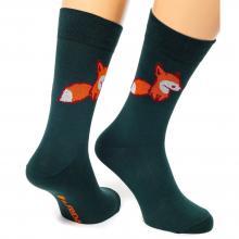 Носки unisex St. Friday Socks Fox & Friday / ЗЕЛЕНЫЕ