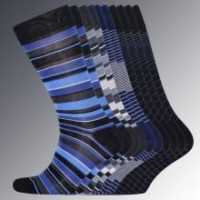 Комплект из 10 пар мужских носков RuSocks МУЛЬТИКОЛОР