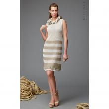 Платье женское Milliner натуральный/белый