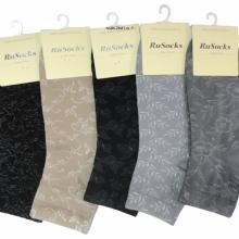 Женские носки Ru-Socks, 10 пар ТЕМНЫЙ МИКС