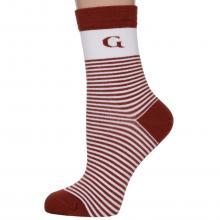 Женские бамбуковые носки Grinston socks БОРДОВЫЕ