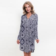 Женское платье Vienetta ТЕМНО-СИНЕЕ