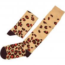 Гольфы unisex St. Friday Socks Леопард в гостях у жирафа