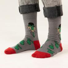 Носки unisex St. Friday Socks Ты не ты, когда в тебя летит яблоко