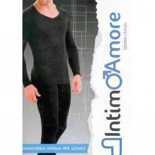 Кальсоны мужские IntimoAmore seamless черные