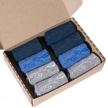 Набор женских носков из хлопка и микромодала, 8 пар (ТМ Grinston) микс