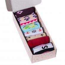 Набор женских носков из 7 пар (ХОХ) микс