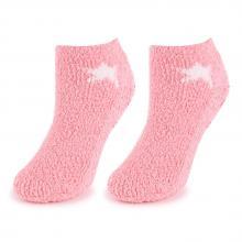 Женские укороченные махровые носки Marilyn РОЗОВЫЕ
