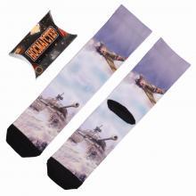 Мужские носки в подарочной упаковке НОСМАГСТЕР с принтом МУЛЬТИКОЛОР 4