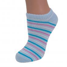 Носки женские хлопковые MOYRA Socks ГОЛУБЫЕ