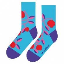 Носки unisex St. Friday Socks Гранат бирюзовые