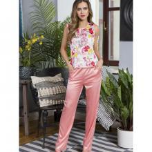 Женская пижама Mia-Mia Цветочный_принт