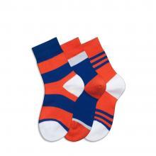 Комплект детских носков Teller Optima из 3 пар СИНИЕ, СИНИЕ и КРАСНЫЕ 108