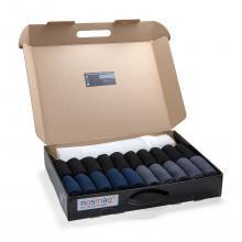 Набор носков «Бизнес» из 20 пар с мешком для стирки («RuSocks») МИКС 36