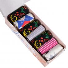 Набор из 7 пар женских носков от фабрики VIRTUOSO микс