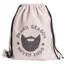 Набор носков  Бизнес  20 пар в мешке с надписью  Beard season never ends