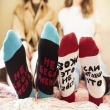 Укороченные носки unisex St. Friday Socks Не беси меня чуть-чуть