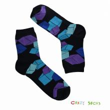 Мужские носки АЛСУ УЛЕТНЫЕ КУБИКИ, черные
