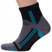 Мужские укороченные носки Брестские ЧЕРНЫЕ