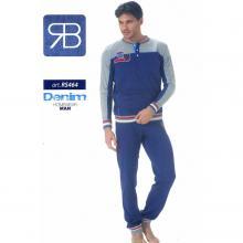 Комплект мужской Renato Balestra серый/синий