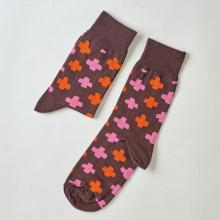 Носки unisex St. Friday Socks Совы снова идут в бой. Коричневые поля