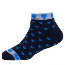 Детские махровые укороченные носки  Красная ветка  ТЕМНО-СИНИЕ
