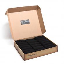 Набор из 20 пар мужских носков СТАНДАРТ (Челны Текстиль) черные