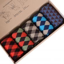 Набор из 5 пар мужских носков (НЕВА-Сокс) микс  Оксфорд
