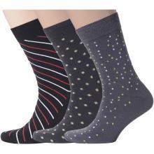 Комплект из 3 пар мужских носков Flappers Peppers микс 2