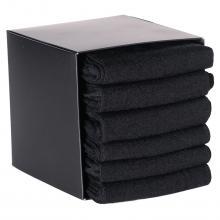 Набор из 6 пар теплых мужских носков (ТМ Sergio di Calze) черные