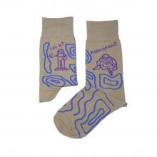 Носки unisex St. Friday Socks Потерявшийся гражданин,начинающий москвовед