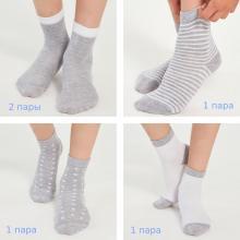 Комплект из 5 пар детских носков  LORENZLine микс 1