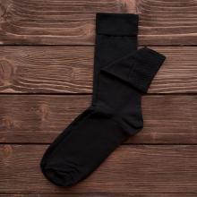 Мужские носки бамбуковые Гранд Сокс ЧЕРНЫЕ