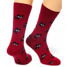 Носки unisex St. Friday Socks Friday Cat Walks / БОРДОВЫЕ